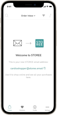 STOREE sign up